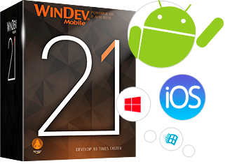 WINDEV Mobile: Cree en algunas horas sus aplicaciones iOS, Android, Windows 10 Mobile, ...