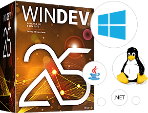 WINDEV: Create 10 times faster all your applications for Windows, .Net, Linux and Mac