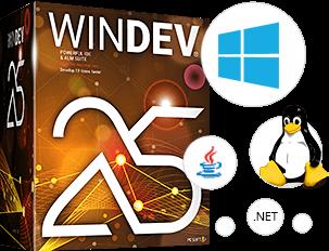 WINDEV: Cree aplicaciones Windows, .Net, Linux y Mac 10 veces más rápido