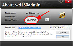 About wd180admin